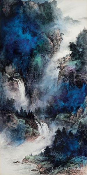 巫登益-萬壑聚泉