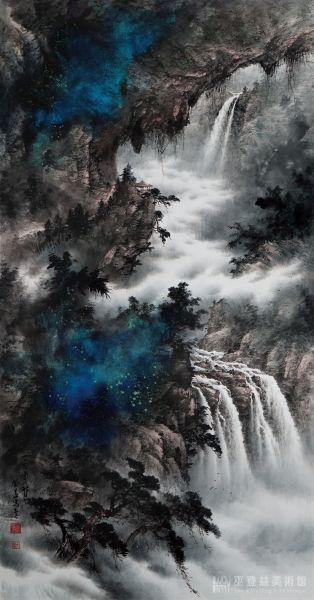 巫登益-碧壑鳴泉