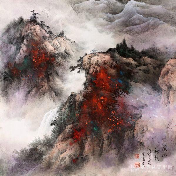 巫登益-溪山秋韻