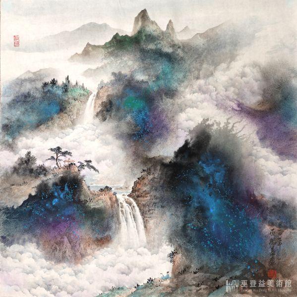巫登益-天水入雲