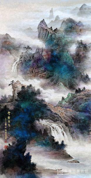 巫登益-春嶽雙瀑