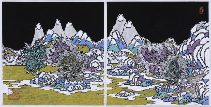 邱國峯-《彼岸 渡流》