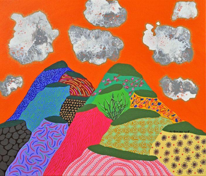 盧俊翰-雙峰與雲朵