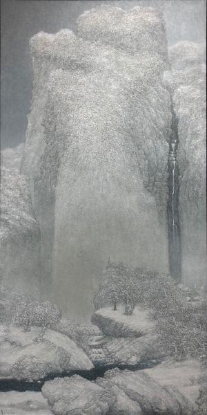 梅丁衍-谿山之冬