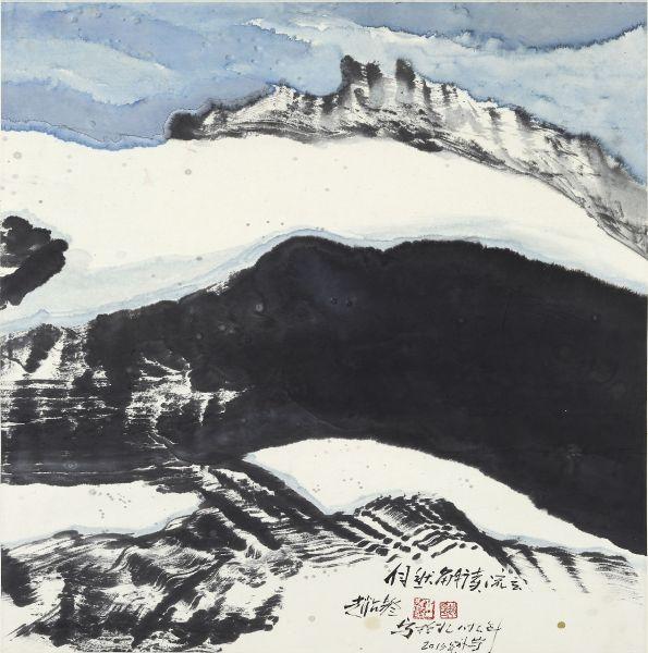 趙占鰲-自然解讀-流雲