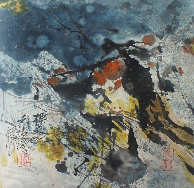 趙占鰲-一棵老樹