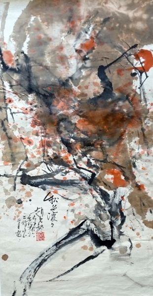 趙占鰲-秋色濃濃