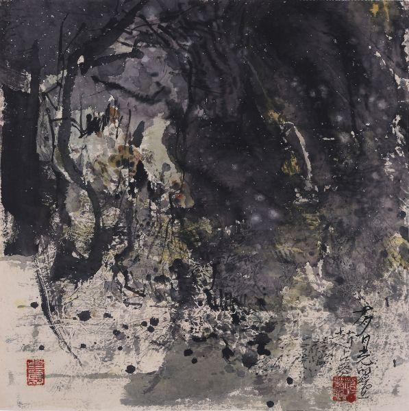 趙占鰲-有月光的晚上