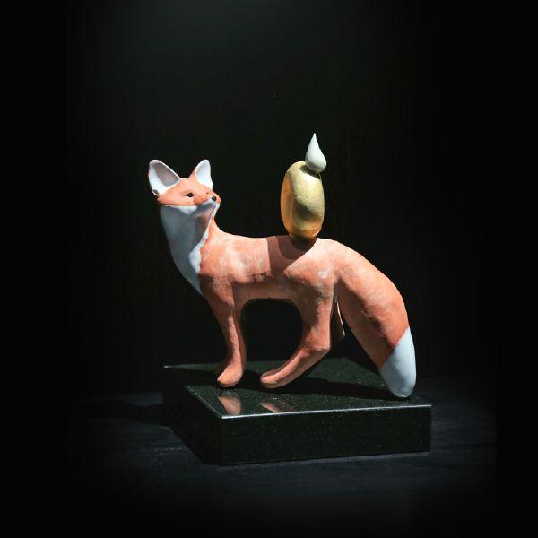 胡慧琴-平衡石-紅狐