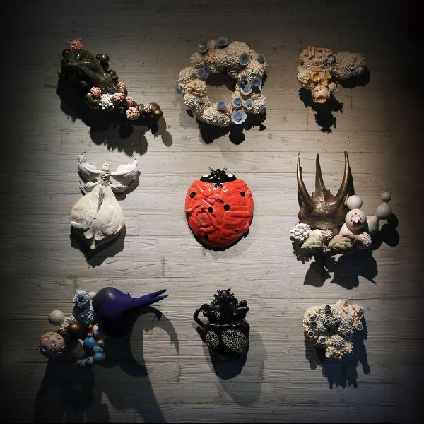 胡慧琴-時間的霉-昆蟲(九件組)