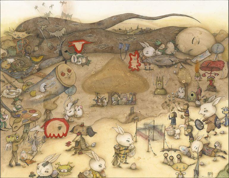 中原千尋-被兔子拯救的南方小鎮