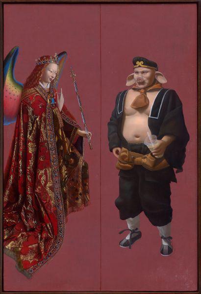 盧昉-門神 1 - 慾 Door God 1 - Lust