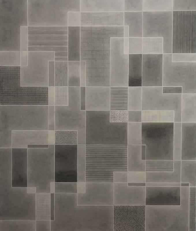 葉帆/銀河系‧1/99x84.5cm/水墨紙本/2020