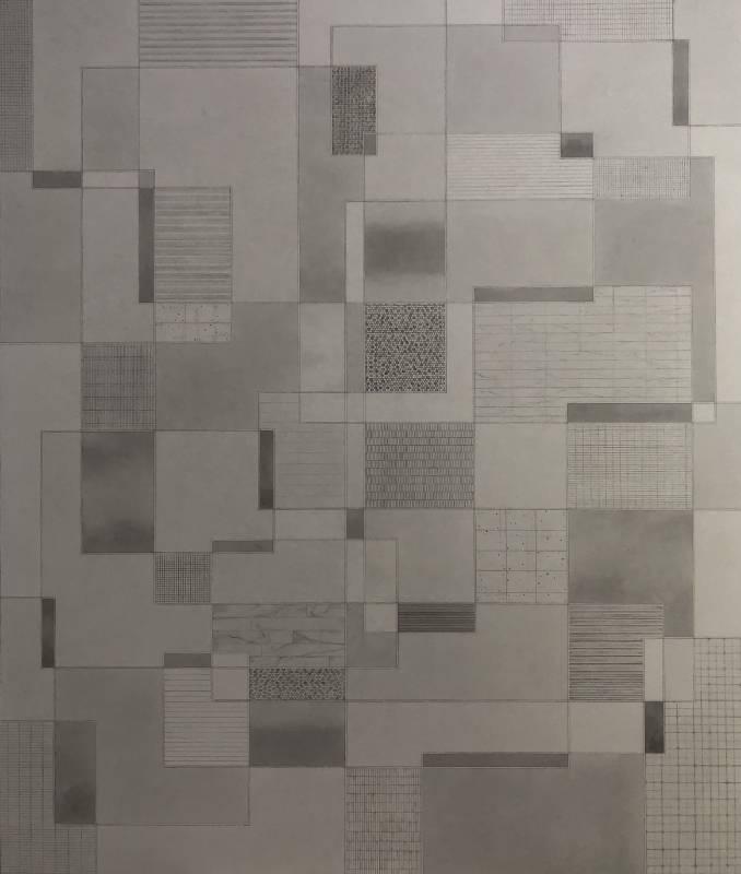 葉帆/銀河系‧5/79.8x60cm/水墨紙本/2020