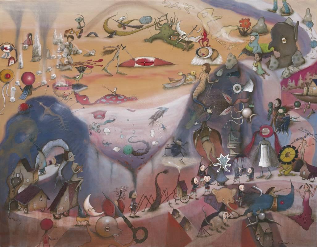 中原千尋|數位遊牧族|85(H) x 109.2(W)cm|藝術微噴紙本|2019
