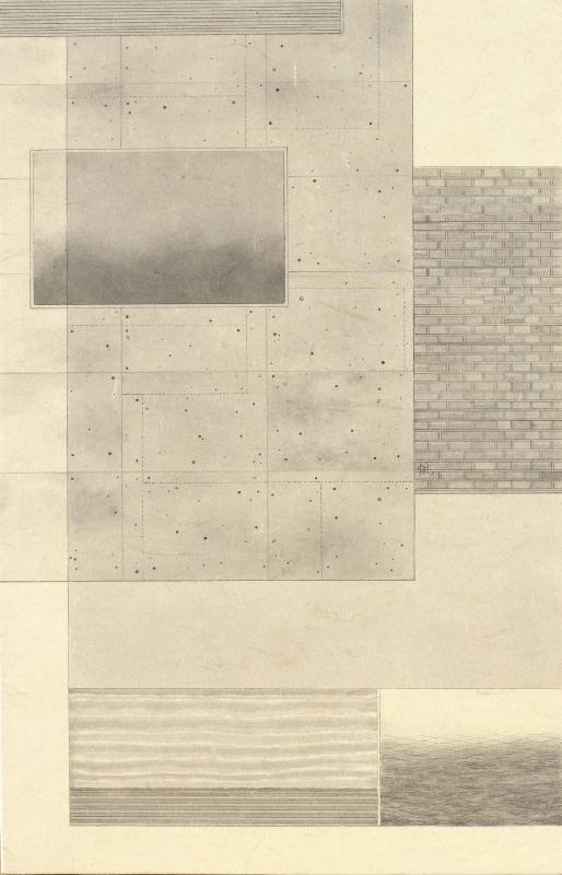 葉帆,銀河系‧6,39.8x25.8cm,水墨紙本,2020