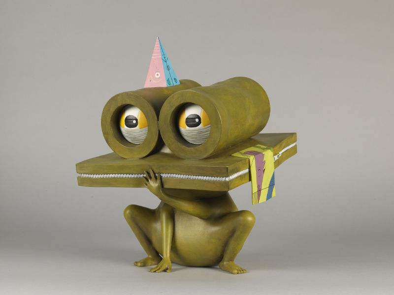 中原千尋 - Intelligent Frog-Chuck ,2018