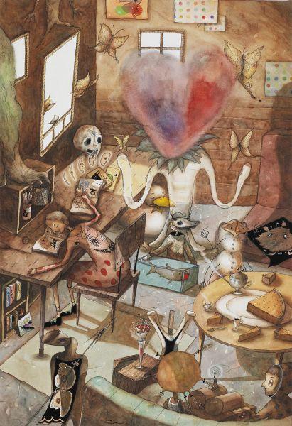 中原千尋-達米恩 ‧ 赫斯特的房間