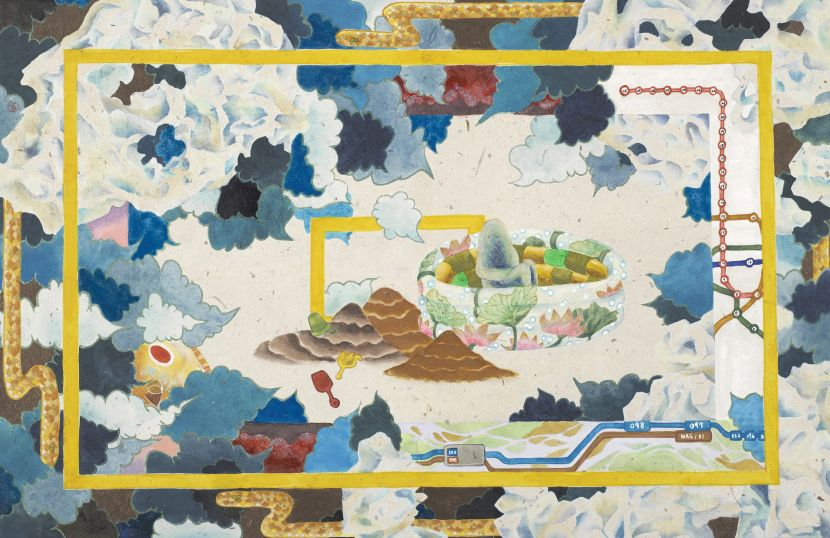 Kung Ching-Ting - 池魚之空,2020