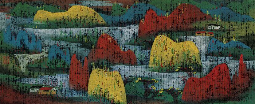 朱紅 - 夢回故里,1996