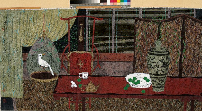朱紅 - 抒懷的沉思,1998