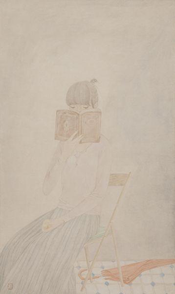 鄧先仙 - 女孩肖像‧1,2014