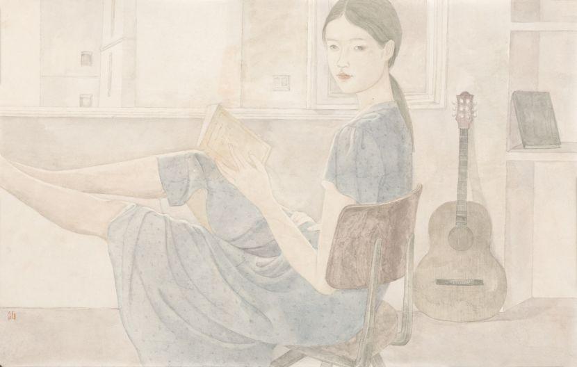 鄧先仙 - 藍衣女孩,2020