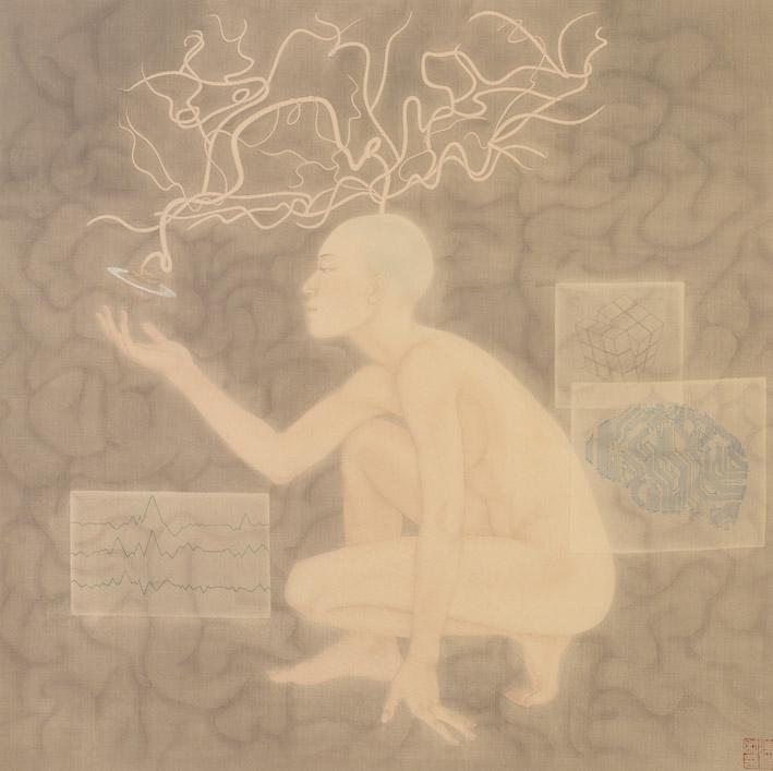 陳夏 - 小宇宙系列-腦,2014