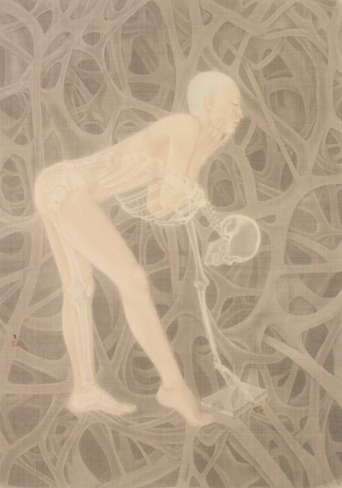 陳夏 - 小宇宙系列-骨,2015
