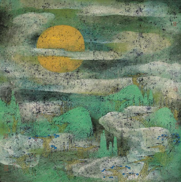 朱紅 - 漠漠寒煙織,1993