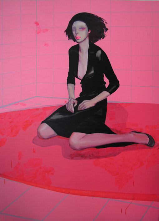 陳欣 - 《精神的祭品》3-3,2006