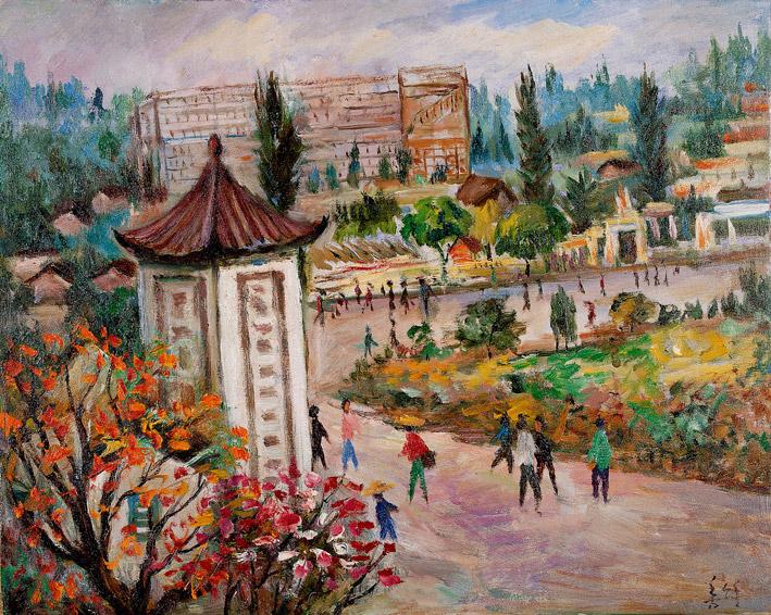 胡善餘 - 杭城街景