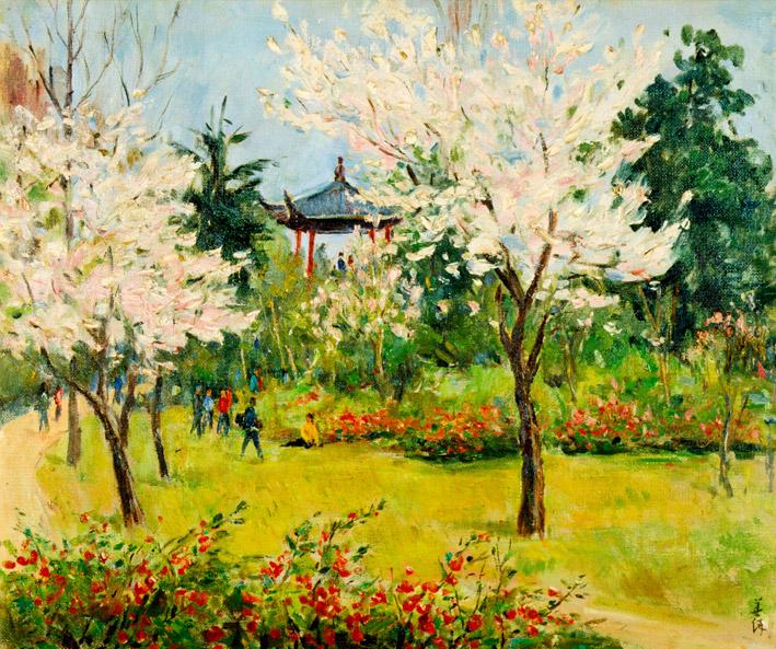 胡善餘 - 西湖風光,1979