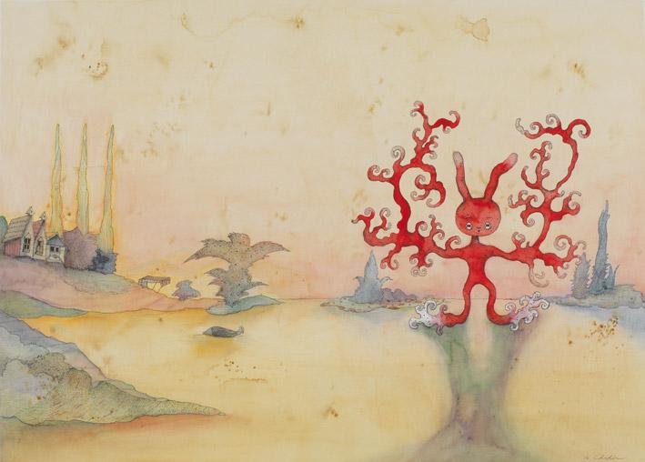 中原千尋 - 兔子的樹,2016