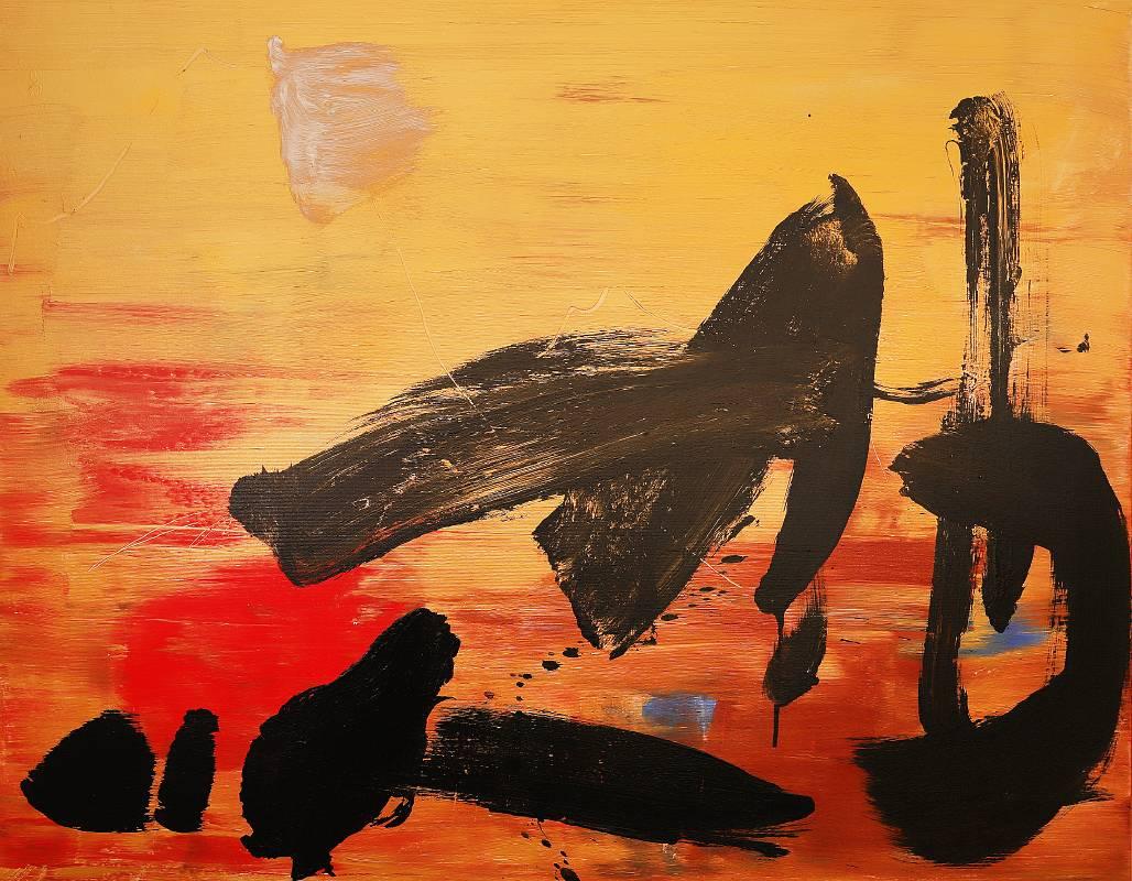 藝術家:吳日勤   標題:  東方的瑰寶    尺寸:113*146 cm  質材: 油畫/布  年代:2021