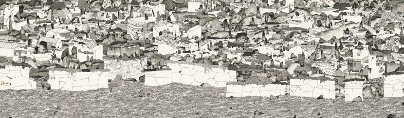 邱奕寧 - 寂寞的城市Ⅸ,2020