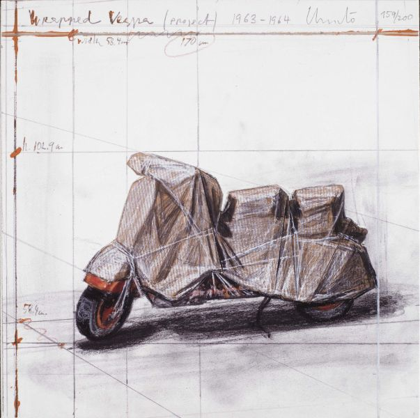 克里斯妥 - wrapped vespa-project 1963-1964,2009