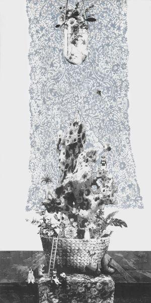郭錦屏 - 小休石,2020
