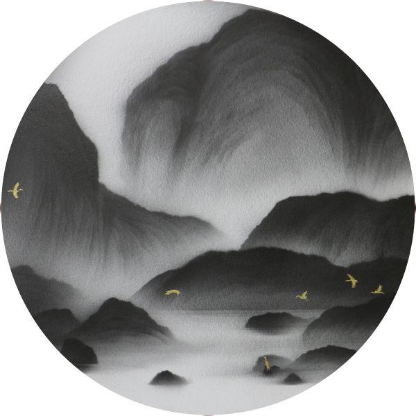 呂浩維 - 返山日記 圓板 No.30,2021