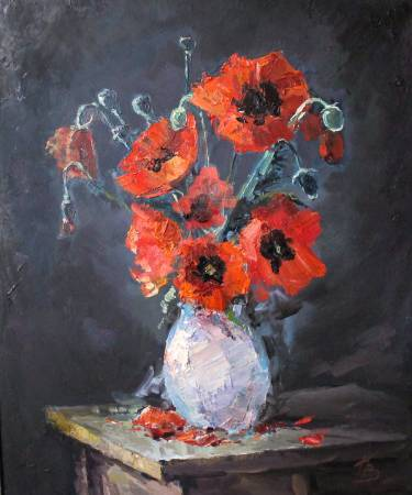 Pavel Veselkin-Poppies