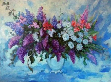 Natalia Nysh-April Flowers