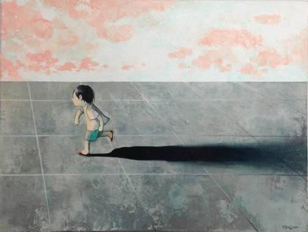 江文瑛-自水泥地上橫過