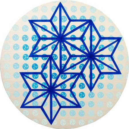 李思慧-藍色的世界Ⅲ( 楓) The Blue WorldⅢ(maple)