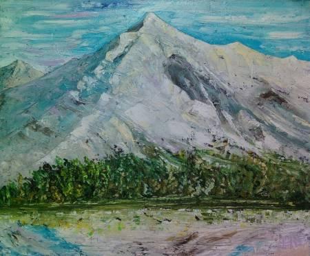 鄭淵仁-雪山的印象