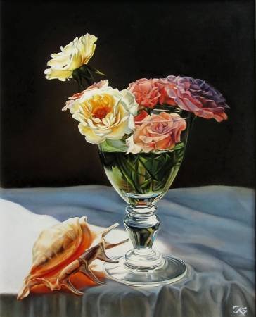 Kuzmin Sergey-Roses and Shell