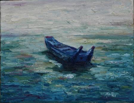 潘柏克(柏克創藝)-舢舨與海