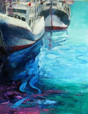 高正幸-蓄勢待發的漁船