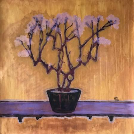阿秀子-淡淡的粉紫花