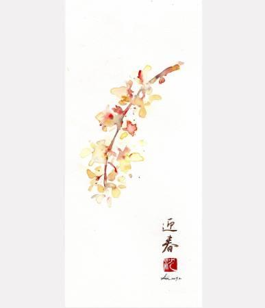 沈鈺華-迎春 - 立春