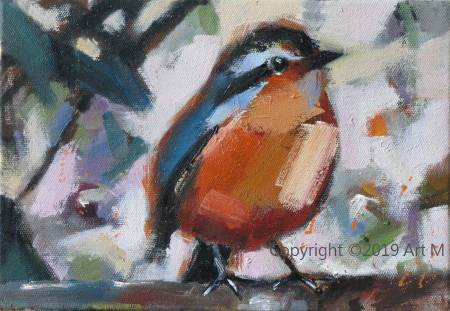 Mar - Atelier- [超萌系列] -  我是一只美麗的小小鳥  ART1